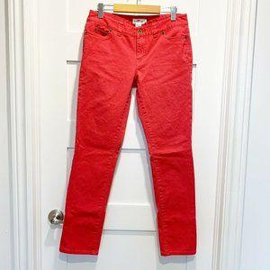 Vineyard Vines Women's Pink Slim Straight Leg Jean